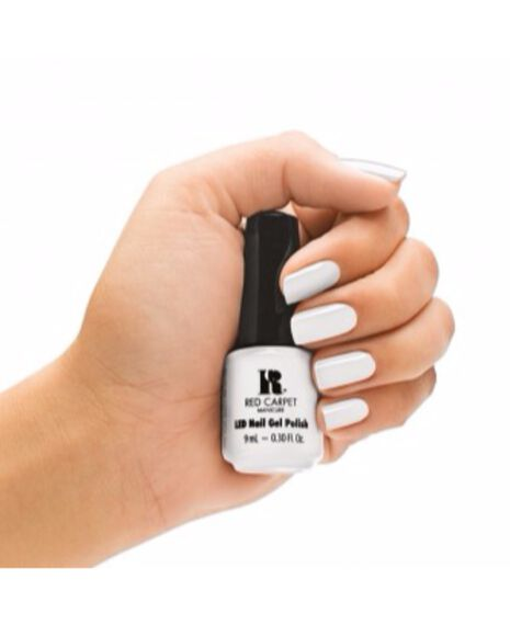 LED Gel Polish White Hot 9ml