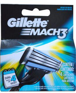 Mach 3 4 Pack Blades