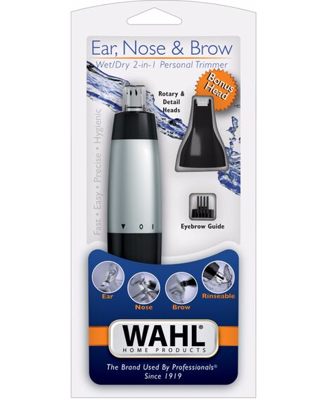 Wet/Dry Nose Ear & Brow Trimmer