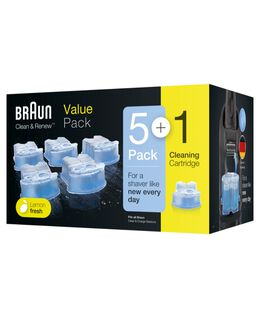 Clean & Renew Cartridge Refills 5 Plus 1 Pack