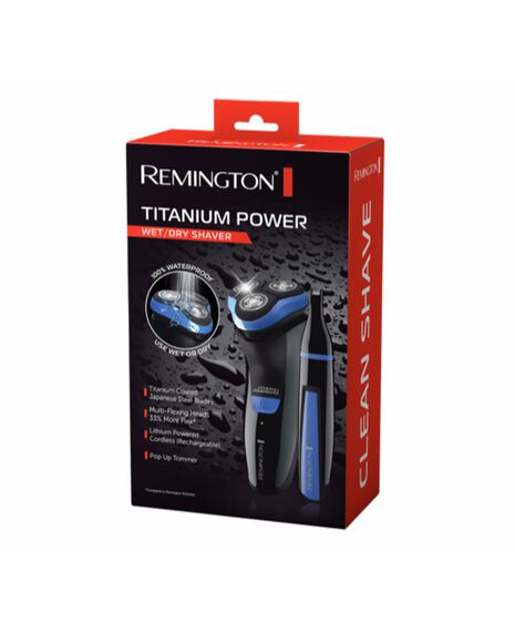Remington Titanium Power Wet/Dry Shaver