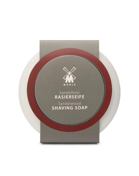 Shaving Soap in Porcelain Bowl - Sandalwood