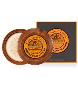 Moroccan Myrrh Shave Soap & Bowl