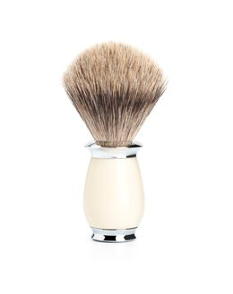 Fine Badger Brush - Ivory