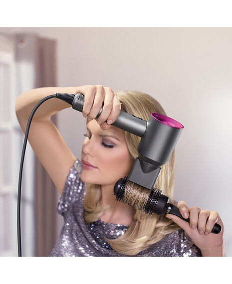 Supersonic Hair Dryer - Nickel and Purple