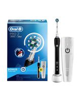 Pro 2 2000 Electric Toothbrush - Black with Travel Case