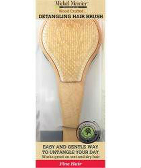 Wood Brush for Fine Hair Brush