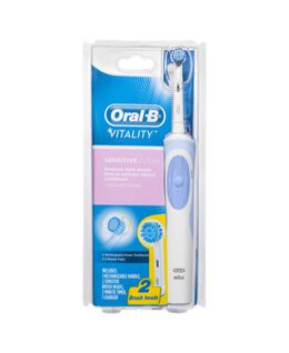 Vitality Sensitive Clean Electric Toothbrush incl. 1 extra head refill