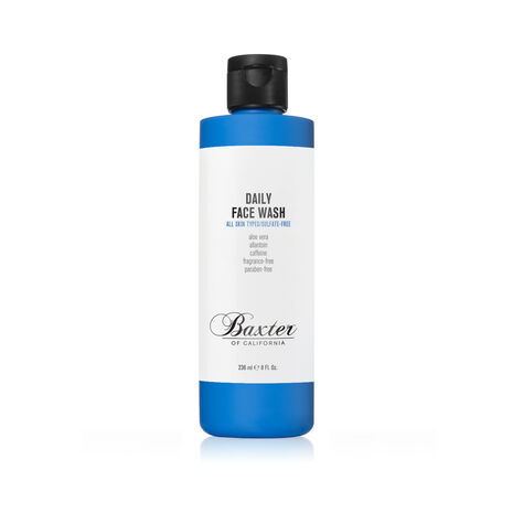 Face Wash: Sulfate and Paraben free 236ml