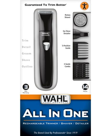 Rechargeable Nose Trimmer Kit