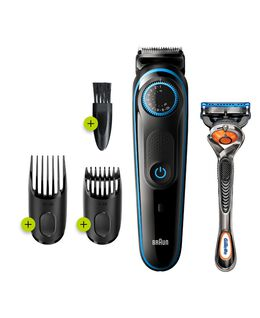 Series 5 Beard Trimmer with Gillette ProGlide Razor