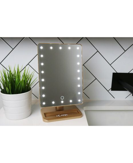 Light up LED Mirror - Gold