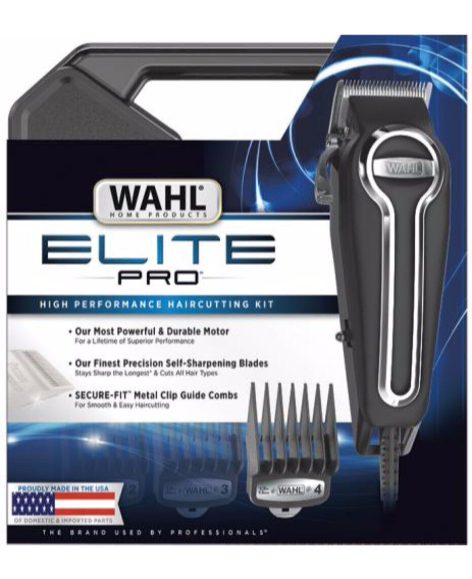 Wahl Elite Pro Hair Clipper Shaver Shop Classic Series 1 Usa
