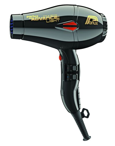 Advance Light Ionic & Ceramic Hair Dryer 2200W - Black