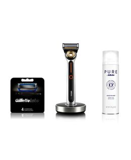GilletteLabs Heated Razor Starter Kit