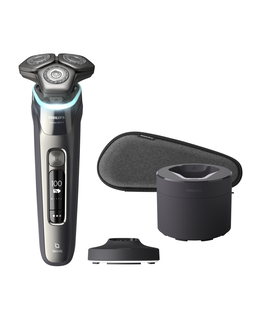 Series 9000 SkinIQ Shaver with Charging Stand