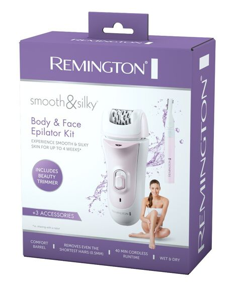 Smooth and Silky Body and Face Epilator Kit EP7040AU