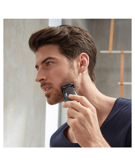Male Grooming Kit 9-in-one precision Face/Head/Body Trimmer with free Gillette Fusion ProGlide Manual Razor