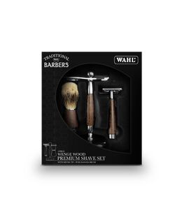 3 Piece Wenge Wood Shave Set