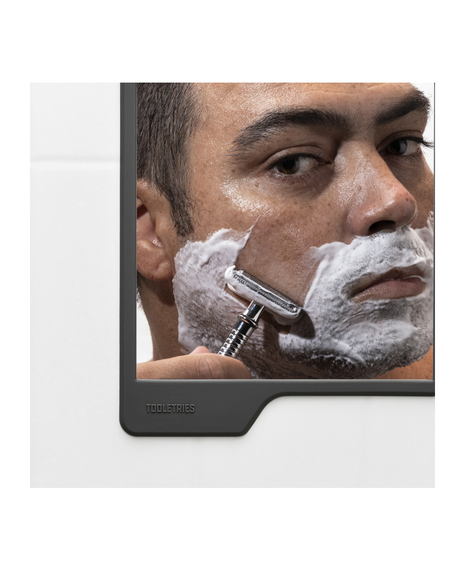 The Oliver | Shower Mirror - Charcoal