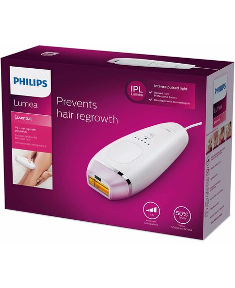 Lumea Essential BRI863 IPL Long Term Hair Removal System