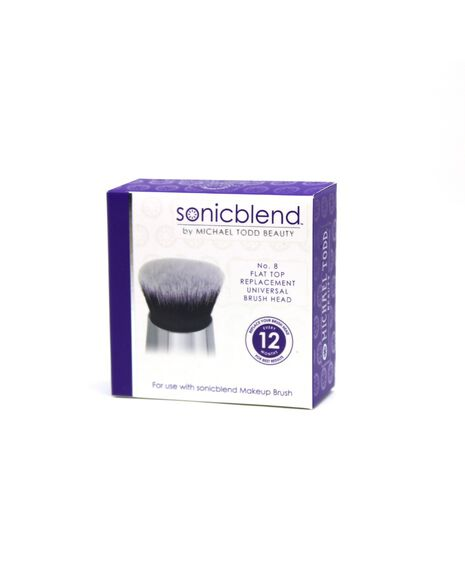 Sonicblend Antimicrobial Flat Top Replacement Brush