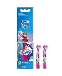 Oral-B Stages Kids Disney FROZEN Toothbrush Brush Head Refills 2 Pack