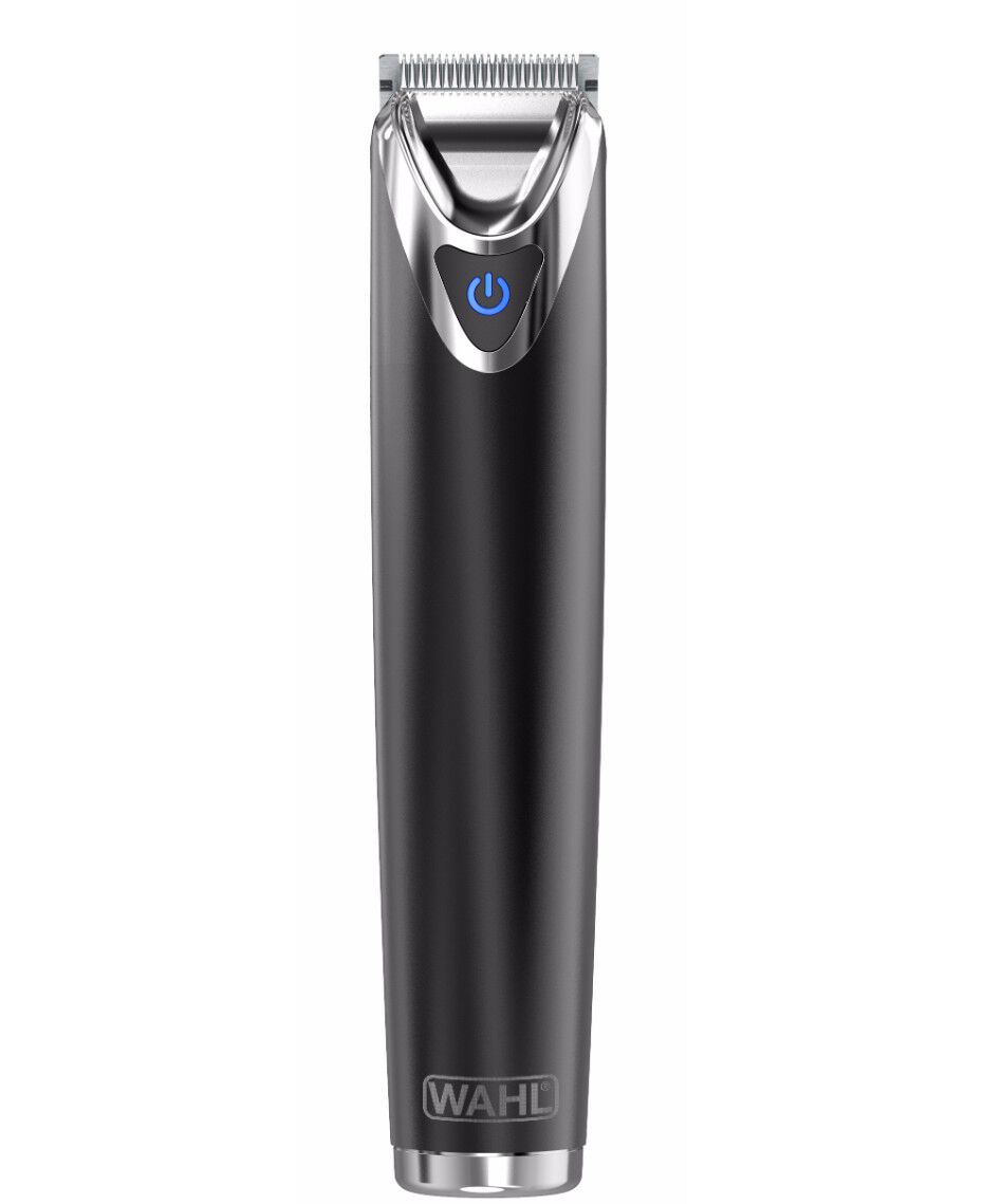 wahl stainless steel lithium ion beard trimmer slate shaver shop. Black Bedroom Furniture Sets. Home Design Ideas