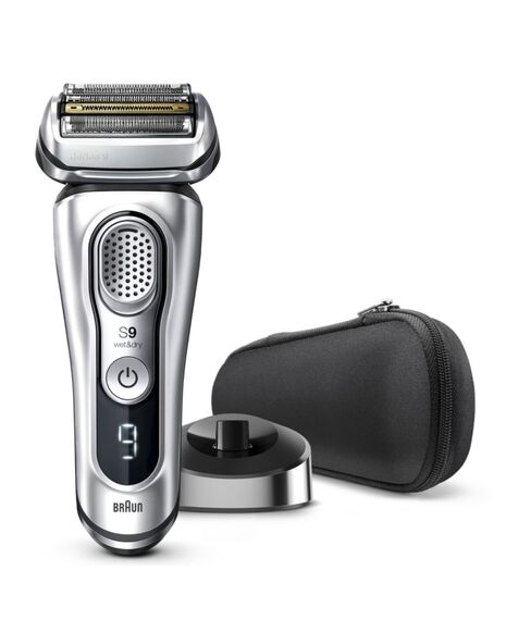 Series 9 Latest Generation Wet & Dry Electric Shaver with Charging Stand and Fabric Travel Case