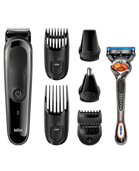 Male Grooming Kit 8-in-one precision Face/Head Trimmer with free Gillette Fusion ProGlide Manual Razor