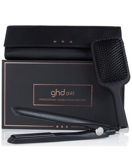 gold® with paddle brush & heat-resistant bag gift set