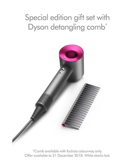 Supersonic Hair Dryer with Comb