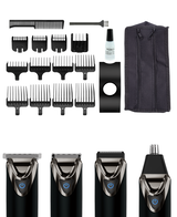 Superior Performance Stainless Steel Lithium Ion Grooming Kit – Black