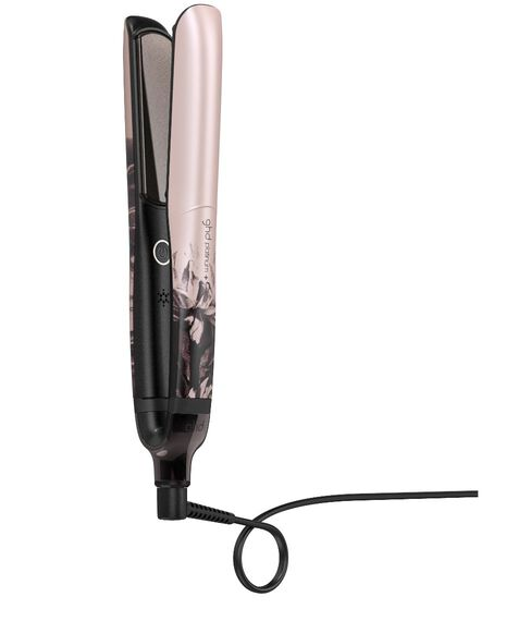 ghd platinum+ styler - ink on pink