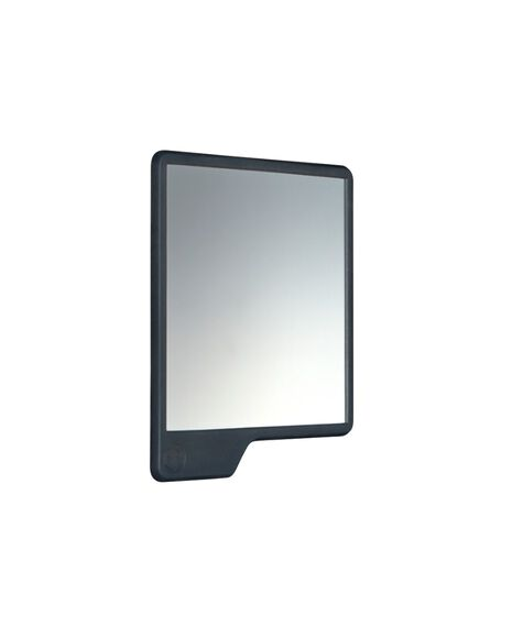 The Oliver Shower Mirror - Charcoal (Fog Free)