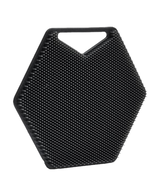 The Silicone Body Scrubber   Charcoal