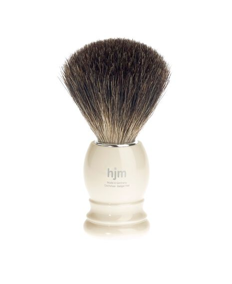 Pure Badger Brush - Ivory