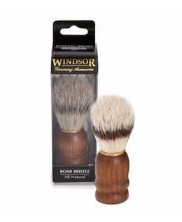 Pure Boar Shave Brush - Wood Handle