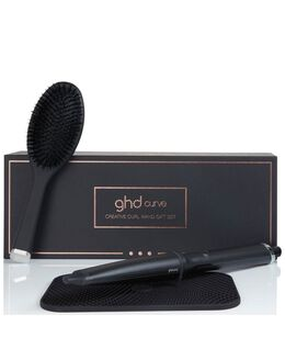 curve® creative wand with oval brush & heat mat