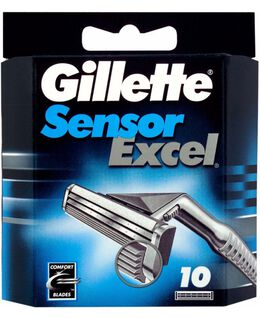 Sensor Excel Blades Refill 10 Pack