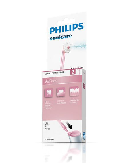 AirFloss Pink Replacement Nozzle - 2 Pack