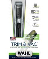 Trim & Vac Beard Trimmer