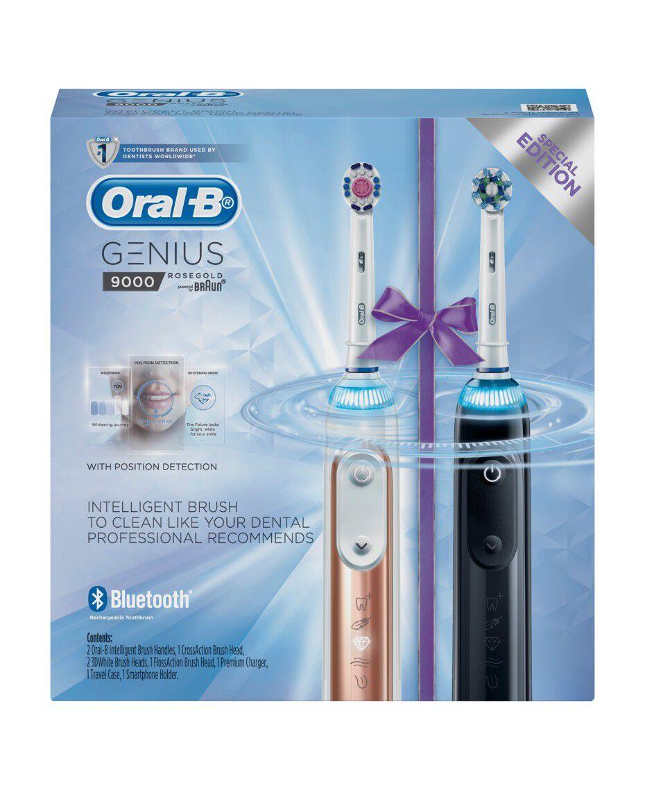 Oral-B | Oral B Genius 9000 Dual Handle | Shaver Shop