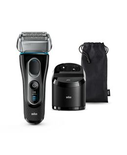 Series 5 Wet & Dry Electric Shaver with SmartCare Center and soft travel bag