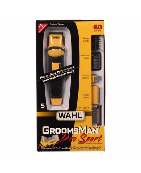 Groomsman Pro Sport Beard Trimmer