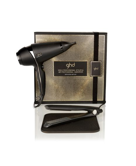 ghd gold® styler and ghd air® hair dryer gift set