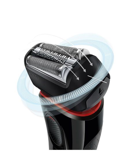 Series 5 Electric Foil Shaver with Pop Up Precision Trimmer & Travel Case