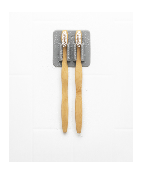 The George | Toothbrush Rack - Grey