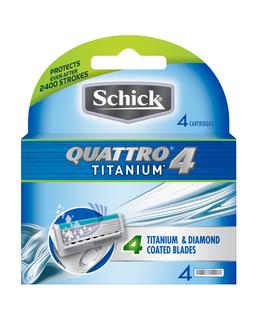 Quattro Titanium 4 Pack Blades