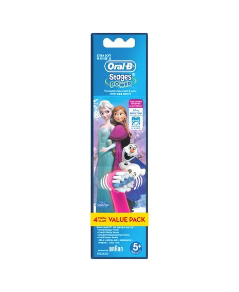 Kids Brushhead Refill 4pk - Frozen